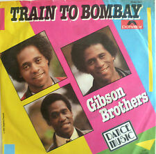 """7"""" 1977 ! GIBSON BROTHERS : Train To Bombay /MINT-"""