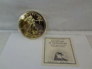 1989 The Washington Mint Giant Half Pound Eagle 8 Troy Oz .999 Fine Silver Round