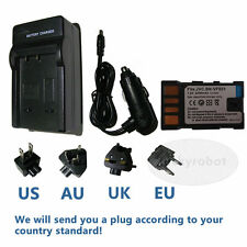 Battery + Charger for JVC Everio GZ-MG230 GZ-MG330 GZ-MG360 GZ-MG630 Camcorder
