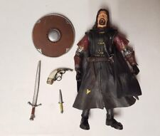 Lord Of The Rings Fellowship Of The Ring SUPER POSEABLE BOROMIR Loose Complete
