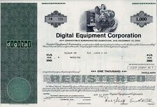DEC Digital Equipment Corporation 1977, 4 1/2% Debenture due 2002 (1.000$)