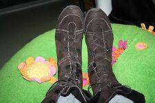 BOSS ORANGE Stiefel Gr.40 40,5 41Stiefeletten Boots  Wildleder ECHTFELL  Boots