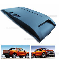 Matte Black Bonnet Cover Fit Wildtrak Ford Ranger T6 Ute 2012 13 14 Hood Scoop
