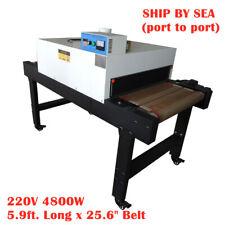 Sea 4800w T Shirt Conveyor Tunnel Dryer 256 X 59 Belt For Screen Printing