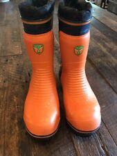 NEW Husqvarna Rubber Logger Boots Men's Size 8.5