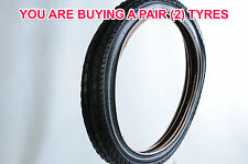 PAIR KENDA CYCLE BIKE TYRES 22x2.125 (57-456) PUNCTURE RESISTANT&REFLECTIVE SIDE