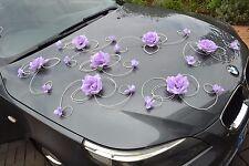Marriage décoration voiture, ruban, noeuds, PROMO Limousine XXL sans Violet