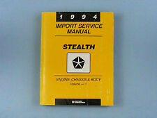 Import Service Manual, 1994 Dodge Stealth, Eng/Chas/Body, Vol. 1, 81-270-4115