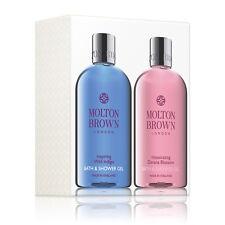 Molton Brown Wild Indigo & Intoxicating Davana Blossom Body Wash Set - 2 x 300ml