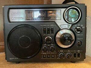 Panasonic RF-2600Superheterodyne Shortwave Radio Working