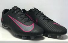 Nike Mens Size 10 Mercurial Veloce Magista III FG Black Pink Shoes 847756-006