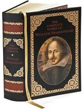 Complete Works of William Shakespeare (2004, Leather) New and Sealed