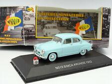 Nostalgie 1/43 - Simca Aronde 1952 Bleue