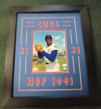 Fergie Jenkins Fingers 8x10 custom framed Auto JSA photo file Chicago Cubs
