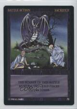 1994 Wyvern Two Player Collectible Card Game Base #70 Sacrifice Gaming 0f8