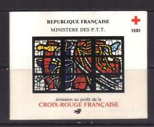 stamps  RED CRoss   France booklet