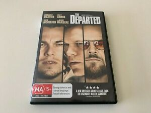 THE DEPARTED DVD Jack Nicholson
