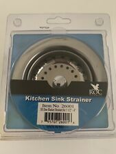 ROC Industries Duo Basket Strainer with Die-Cast Nut Stainless Steel NEW