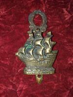 Brass ship door knocker