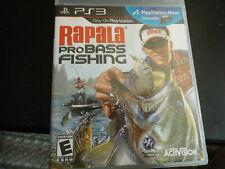 Rapala Pro Bass Fishing (Sony PlayStation 3, 2010) PS3 CIB FREE SHIPPING!!!!!!!