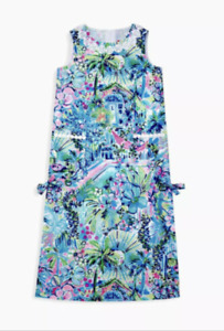 NWT Lilly Pulitzer Girl's little Lilly Classic Maxi Lilly's House 8