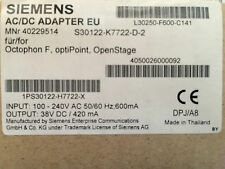 Siemens Unify Octopus Openscape Optipoint Steckernetzteil Mwst. Rechnung Neu