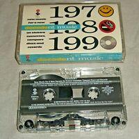 Elektra DECADENT MUSIC Sugarcubes,TMBG,Faster Pussycat cassette tape US album EX