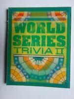 1991 Score Magic Motion Trivia II Baseball Card Complete Your Set You U Pick