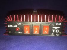 TC-300 HF Power Amplifier with FM AM SSB CW Work Mode For ham two way radio RED