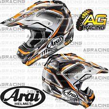 Arai MXV MX-V Helmet Speedy Orange Black Adult Medium MED M Motocross Helmet