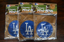 "Lot of 3 -- 14"" LA Dodgers Mini Mitts The Inflatable NIB"