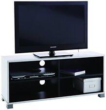 Demeyere 453218 Banc TV Blanc Noir 101 cm