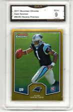 2011 BOWMAN CHROME PREVIEW BCR3 CAM NEWTON ROOKIE CAROLINA PANTHERS