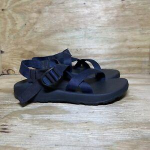 Chaco Z/1 Classic Sport Sandals Mens Size 13 Black Blue Strappy Open Toe J105783