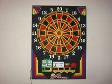 Vintage Arachnid soft tip electronic dart board - 4 games