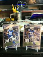 *** 2020 Panini Mosaic Got Game #GG17 DARIUS LEONARD Colts ***x2