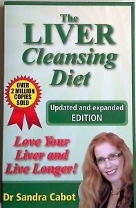 THE LIVER CLEANSING DIET Sandra Cabot - Bestseller Updated Expanded 2010 - Book