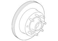 genuine ford hub rotor 5c3z 1102 gb ebay 05 F250 Ac Compressor genuine ford hub rotor bc2z 1102 a