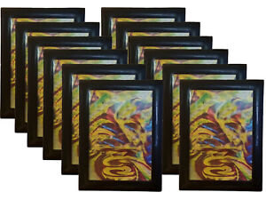 4x6 Magnetic Black Picture Frames Modified Self Adhesive Collage 4x6 Frames