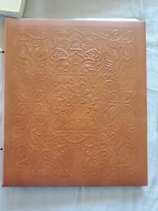 Hallmark Embossed Scroll Photo Album with Page Protectors