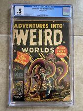 Adventures Into Wierd Worlds #3 CGC 1952 Atlas Comics Sci-Fi Horror PCH