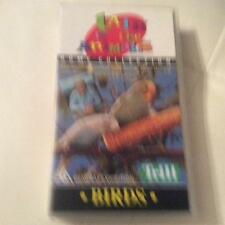 TALK TO THE ANIMALS BIRDS VHS VIDEO PAL~ A RARE FIND ~