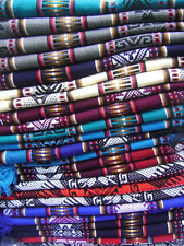 WHOLESALE LOT OF 10 BEAUTIFUL UNISEX INCA PONCHO WITH SCARF ADULT SIZE