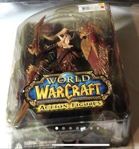 World of Warcraft Series 3 Blood Elf Paladin Quin'Thalan Action Figure