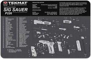 TEKMAT Reinigungsmatte Sig Sauer - P226