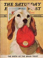 1938 Saturday Evening Post October 29 - Football's golden age; English Setter;
