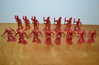 Vintage MARX REISSUE African Natives Zulu Daktari Figurines Toy Soldiers Lot
