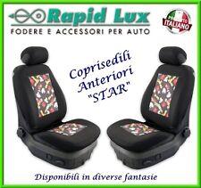 """Coppia fodere coprisedili anteriori Star per Toyota Yaris fantasia """"S60"""""""