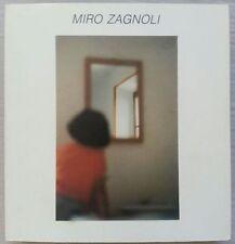 Miro Zagnoli, catalogo mostra 1992, con dedica autografa