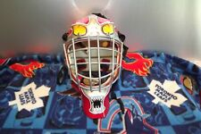 DECK OR STREET HOCKEY,ADULT SIZE ITECH GOALIE MASK,THICK CAGE,DETROIT RED WINGS
